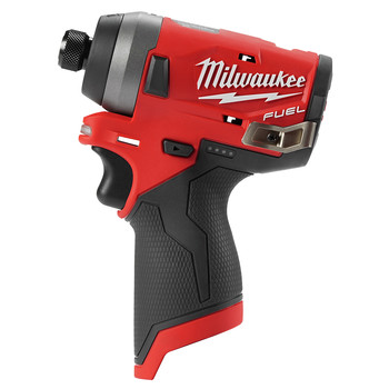 Factory Reconditioned Milwaukee 2553-80 M12 FUEL 1/4 in. Hex Impact Driver (Tool Only) image number 0