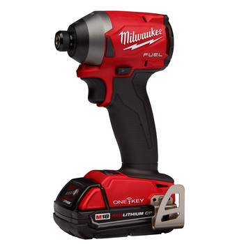 Milwaukee 2857-22CT M18 FUEL 1/4 in. Hex Impact Driver with ONE-KEY CP Kit image number 1