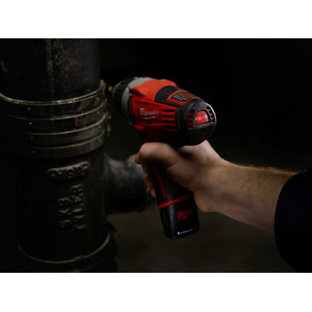Milwaukee 2455-20 M12 12V Cordless Lithium-Ion No Hub Driver (Tool Only) image number 4