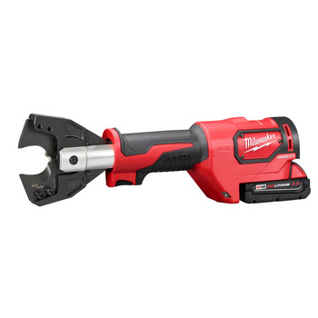 Factory Reconditioned Milwaukee 2672-81 18V 2.0 Ah Cordless Lithium-Ion Cable Cutter Kit with 750 MCM Cu Jaws image number 2