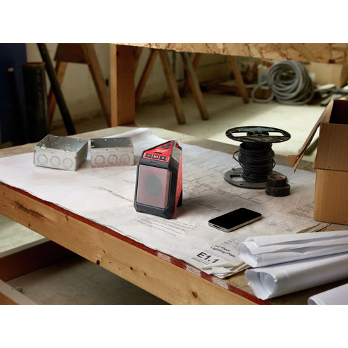 Milwaukee 2592-21 M12 12V Wireless Jobsite Speaker Kit with Battery and Charger image number 6
