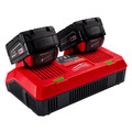 Milwaukee 48-59-1802 M18 Dual Bay Simultaneous Rapid Lithium-Ion Charger image number 2