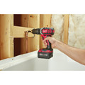 Milwaukee 2697-22PO M18 Compact Lithium-Ion 1/2 in. Cordless Hammer Drill/1/4 in. Cordless Hex Impact Driver Combo Kit (3 Ah) with PACKOUT Tool Box image number 10