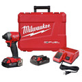 Milwaukee 2853-22CT M18 FUEL 1/4 in. Hex Impact Driver CP Kit image number 0