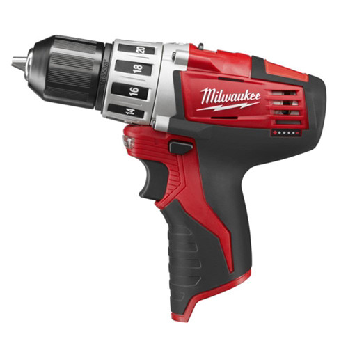 Factory Reconditioned Milwaukee 2410-80 M12 12V Cordless Lithium-Ion 3/8 in. Drill Driver (Bare Tool)