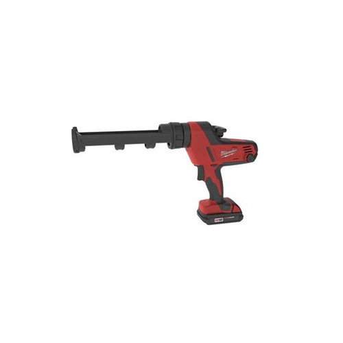 Milwaukee 2641-21CT M18 18V Cordless Lithium-Ion Caulk Gun Kit with 10 oz. Carriage