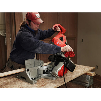 Factory Reconditioned Milwaukee 6955-80 12 in. Dual-Bevel Sliding Compound Miter Saw image number 1