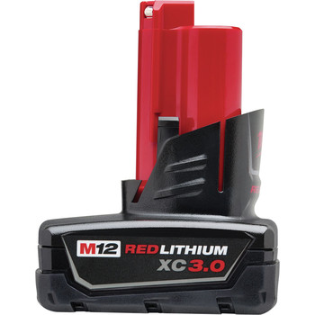 Milwaukee 48-11-2402 M12 REDLITHIUM XC 3 Ah Lithium-Ion High Capacity Battery image number 0