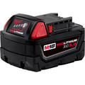 Milwaukee 48-11-1852 M18 REDLITHIUM XC 5 Ah Lithium-Ion Extended Capacity Battery (2-Piece) image number 1