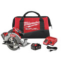 Factory Reconditioned Milwaukee 2731-82 M18 FUEL Cordless Lithium-Ion 7-1/4 in. Circular Saw Kit with 2 Batteries image number 0