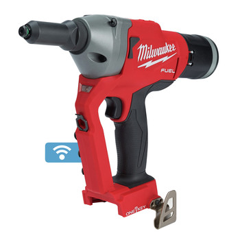 Milwaukee 2660-20 M18 FUEL Brushless Lithium-Ion 1/4 in. Cordless Blind Rivet Tool with ONE-KEY (Tool Only)