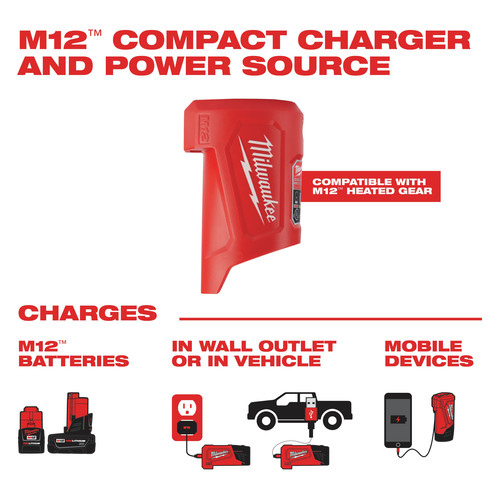 Milwaukee 203RN-21XL M12 3-in-1 Heated AXIS Jacket Kit with Rainshell image number 10