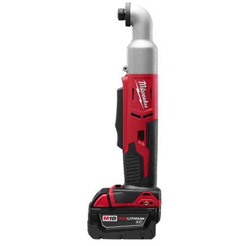 Factory Reconditioned Milwaukee 2667-82 M18 18V 3.0 Ah Cordless Lithium-Ion 1/4 in. 2-Speed Right Angle Impact Driver Kit