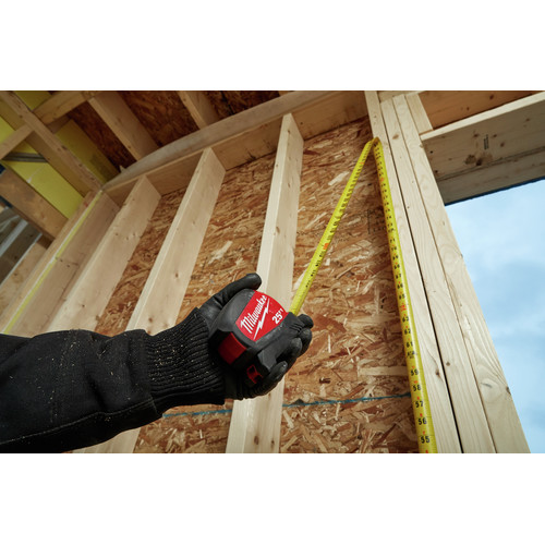 Milwaukee 48-22-0425 25 ft. Compact Wide Blade Tape Measure image number 5