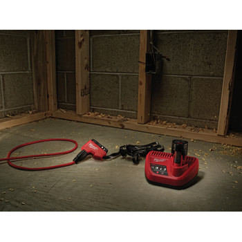Milwaukee 2678-22BG M18 Force Logic 18V 2.0 Ah Cordless Lithium-Ion 6T Utility Crimper Kit with D3 Groves and Fixed BG Die image number 8