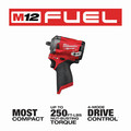 Milwaukee 2554-20 M12 FUEL Compact Lithium-Ion 3/8 in. Cordless Stubby Impact Wrench (Tool Only) image number 2