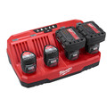 Milwaukee 48-59-1204 M12 Four Bay Sequential Charger image number 1