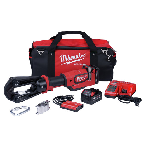 Milwaukee 2879-22 M18 FORCE LOGIC 18V 15 Ton Crimper Kit image number 0