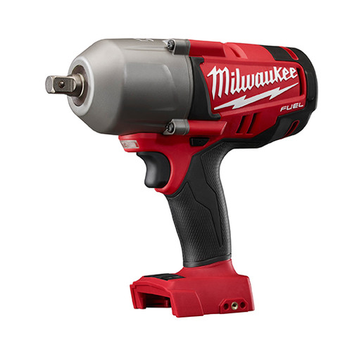 Milwaukee 2762-20 M18 FUEL 18V Cordless Lithium-Ion 1/2 in. High Torque Impact Wrench with Detent Pin (Bare Tool)