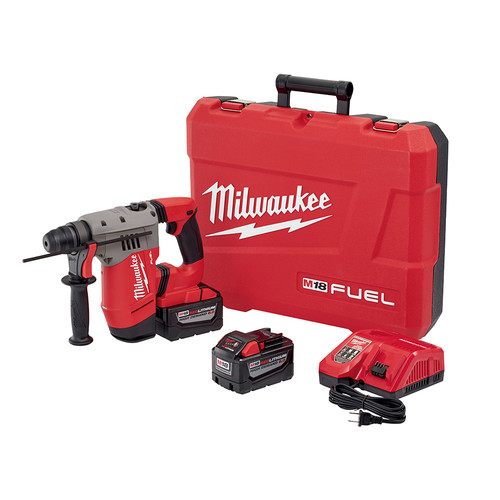 Milwaukee 2715-22HD M18 FUEL 1-1/8 in. SDS-Plus D-Handle Rotary Hammer Kit