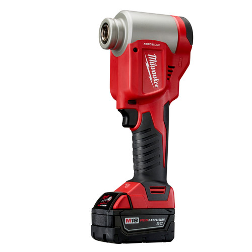 Milwaukee 2676-23 M18 FORCE LOGIC Cordless Lithium-Ion High Capacity Knockout Kit with EXACT 1/2 - 4 in. Knockout Set image number 3