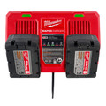 Milwaukee 48-59-1802 M18 Dual Bay Simultaneous Rapid Lithium-Ion Charger image number 7