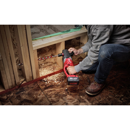 Milwaukee 2708-20 M18 FUEL HOLE HAWG Lithium-Ion 1/2 in. Cordless Right Angle Drill with QUIK-LOK (Tool Only) image number 5