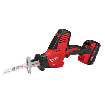 Milwaukee 2625-21CT M18 Lithium-Ion Hackzall Reciprocating Saw with Compact Lithium-Ion Battery image number 2