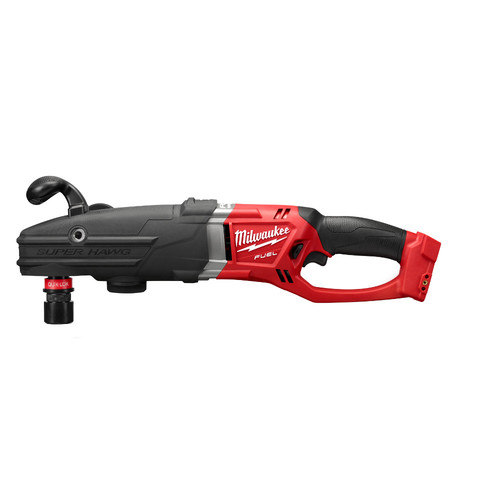 Milwaukee 2711-20 M18 FUEL 18V Lithium-Ion SUPER HAWG 1/2 in. Right Angle Drill with QUIK-LOK (Bare Tool)