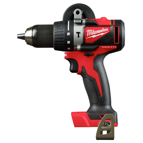 Milwaukee 2902-20 M18 Lithium-Ion Brushless 1/2 in. Cordless Hammer Drill (Tool Only) image number 0