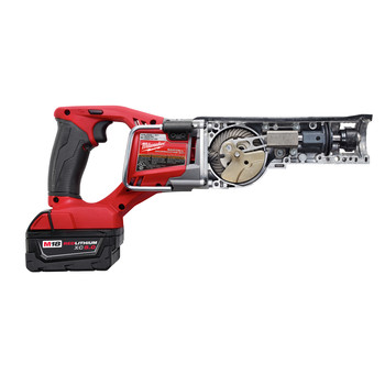 Milwaukee 2720-22 M18 FUEL Cordless Sawzall Reciprocating Saw with 2 REDLITHIUM Batteries image number 4