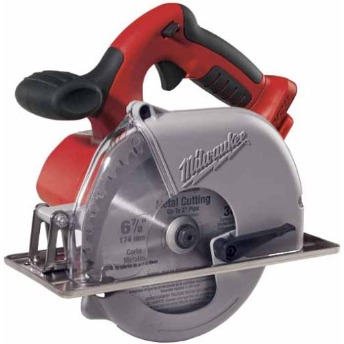 Milwaukee 0740-20 M28 Cordless Lithium-Ion 6-7/8 in. Metal Cutting Saw (Tool Only) image number 0