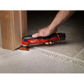 Milwaukee 2426-20 M12 Lithium-Ion Multi-Tool (Tool Only) image number 8