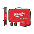 Milwaukee 2565-22 M12 FUEL Lithium-Ion 1/2 in. Cordless Right Angle Impact Wrench Kit with Friction Ring (2 Ah) image number 0