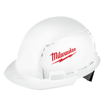 Milwaukee 48-73-1000 Type 1 Class C Front Brim Vented Hard Hat with BOLT Accessories