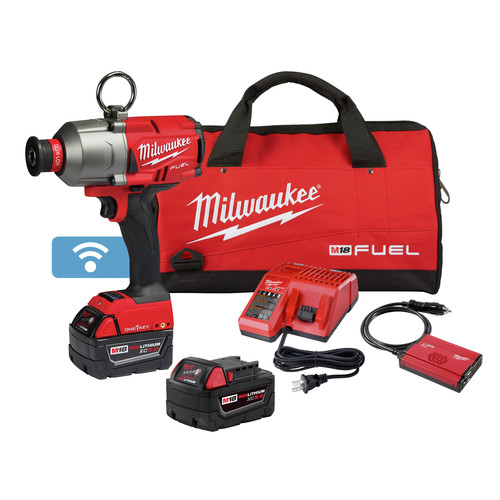 Milwaukee 2865-22 M18 FUEL 7/16 in. Hex Utility High-Torque Impact Wrench with ONE-KEY Kit image number 0