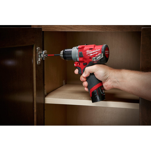 Milwaukee 2503-22 M12 FUEL Lithium-Ion 1/2 in. Cordless Drill Driver Kit (4 Ah) image number 12
