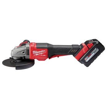 Milwaukee 2980-21 M18 FUEL 4-1/2 in. - 6 in. Braking Grinder Kit with No-Lock Paddle Switch & (1) 6 Ah Li-Ion Battery image number 1