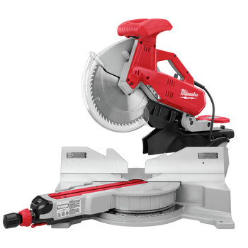 Factory Reconditioned Milwaukee 6955-80 12 in. Dual-Bevel Sliding Compound Miter Saw image number 0
