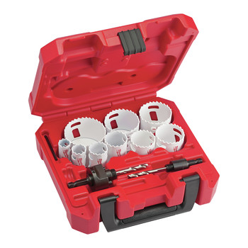 Milwaukee 49-22-4025 13-Piece HOLE DOZER Gen. Purpose Bi-Metal Hole Saw Kit