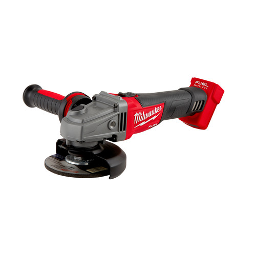 Milwaukee 2781-20 M18 FUEL Lithium-Ion 4-1/2 in. - 5 in. Slide Switch Grinder with Lock-On (Tool Only) image number 0