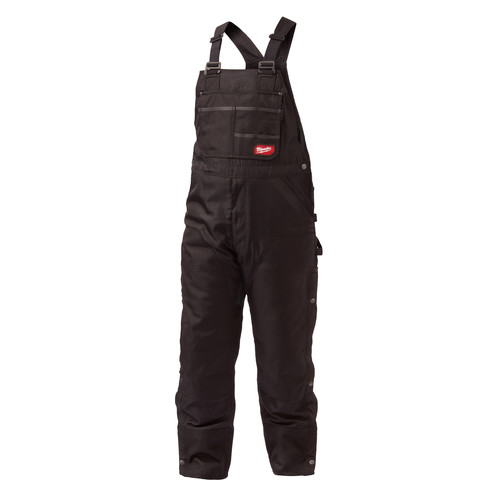 Milwaukee 261B-SS GRIDIRON Zip-to-Thigh Bib Overall (Black)
