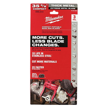 Milwaukee 48 39 0609 Extreme Thick Compact 35 3 8 In 8 10