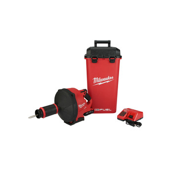 Milwaukee 2772A-21 M18 FUEL Drain Snake with CABLE DRIVE Kit image number 0