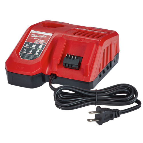 Milwaukee 48-59-1880 M18 REDLITHIUM HIGH OUTPUT XC 8 Ah Lithium-Ion Battery and M18 /M12 Charger Kit image number 2