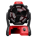 Milwaukee 0886-20 M18 Portable Jobsite Fan with AC Adapter (Bare Tool)