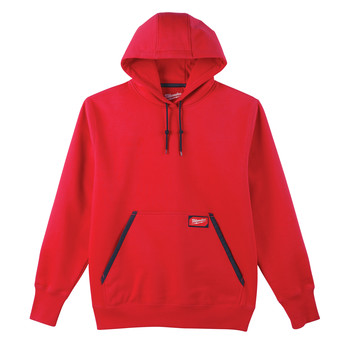 Milwaukee 350R-XL Heavy Duty Pullover Hoodie - Red, X-Large