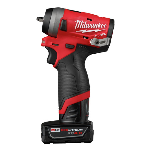 Milwaukee 2552-22 M12 FUEL Stubby 1/4 in. Impact Wrench Kit image number 1
