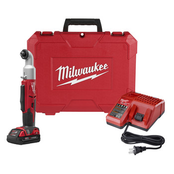 Milwaukee 2667-21CT M18 Lithium-Ion 1/4 in. 2-Speed Right Angle Impact Driver Kit image number 0