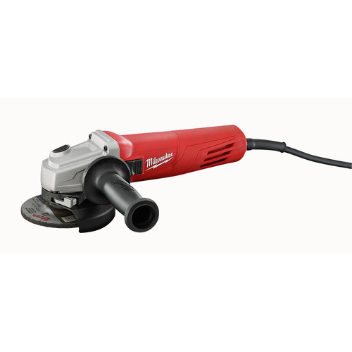 Milwaukee 6146-33 4-1/2 in. 11.0 Amp Slide Switch Grinder with Lock-On Button